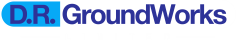 Logo Transparent DR Groundworks Groundworks Ground Works Hampshire Civil Engineering Residential South Coast Footings Foundation