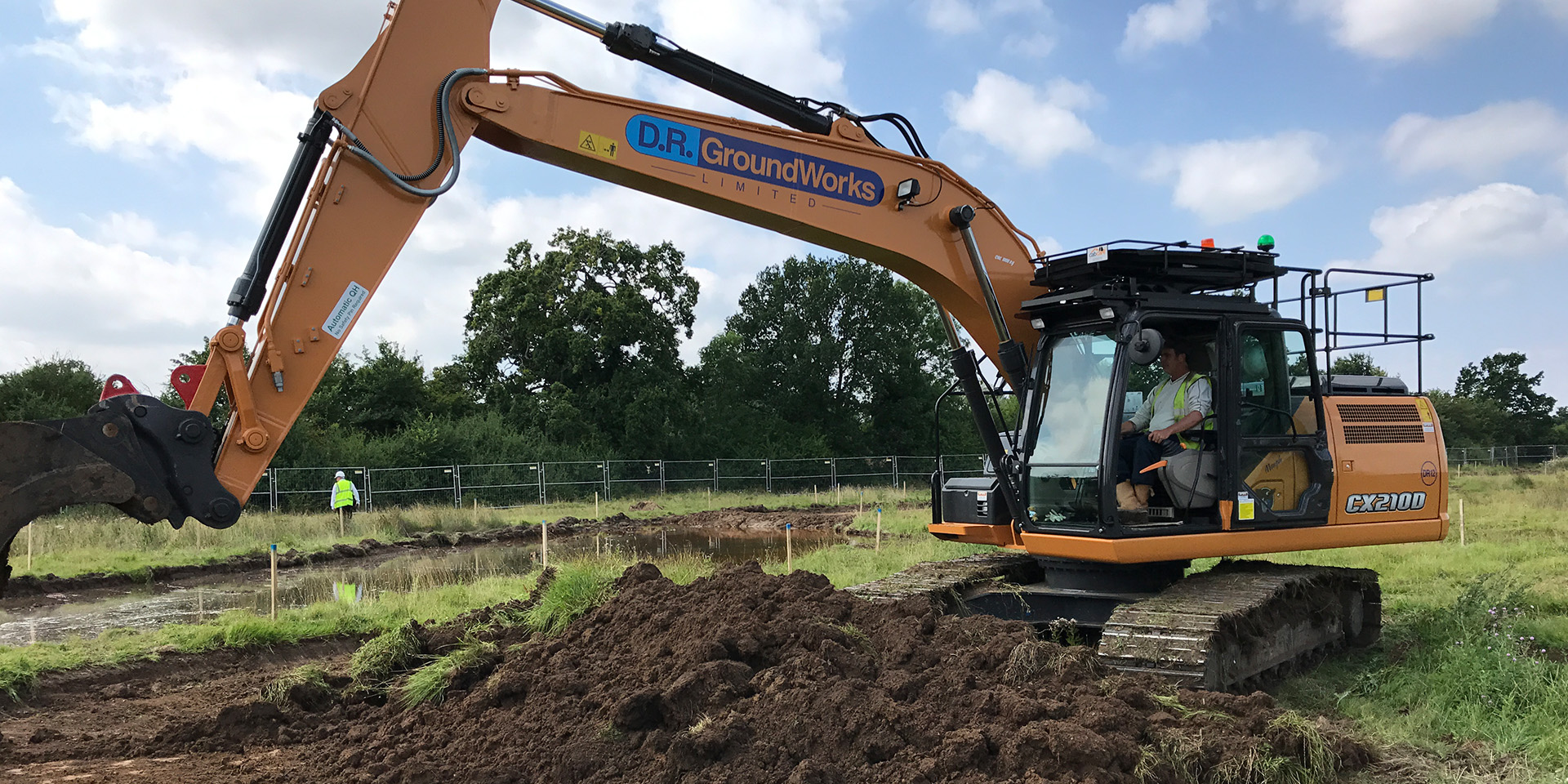 DR Groundworks - Earth Moving - Hampshire South Portsmouth Southampton
